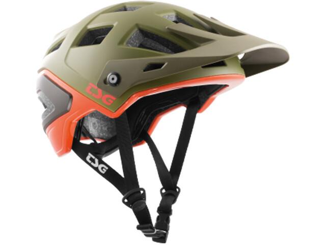 TSG Scope Graphic Design Helmet army moss-orange
